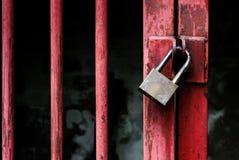 Locked master key Royalty Free Stock Images