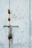Locked Metal Door or Gate Stock Photos