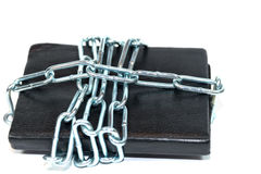 Locked notebook Royalty Free Stock Images