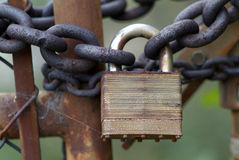 Locked out Royalty Free Stock Photo