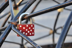 Locked pad lock Royalty Free Stock Photography
