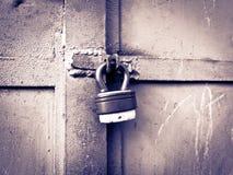 Locked padlock Стоковая Фотография