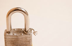 Locked ring Stock Photography
