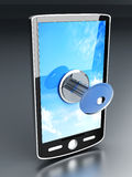 Locked Smartphone Stock Image