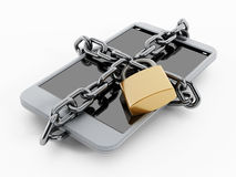 Locked smartphone Stock Images