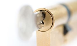 Locked - under lock and key Stock Images