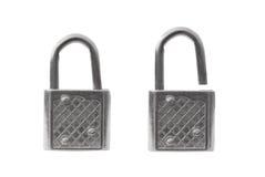 Locked and Unlocked Stock Image