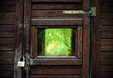 Locked view of nature Royalty Free Stock Photo