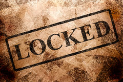 Locked Royalty Free Stock Photos