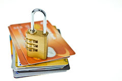 Locked your card Royalty Free Stock Photos