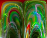 Lockenschablone des zukünftigen schönen Hintergrundes der Energie der Zusammenfassungsphantasie grafische futuristischen, Zukunft vektor abbildung