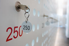 Locker 250 Royalty Free Stock Image