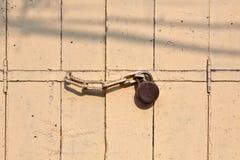 Locker at the door Stock Image