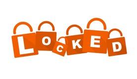 Locker illustration Stock Photo
