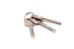 Locker Keys isolated on white background Stock Photos