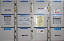 Locker Patterns Royalty Free Stock Image