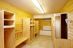 Locker room Royalty Free Stock Photo