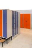 Locker room Stock Image