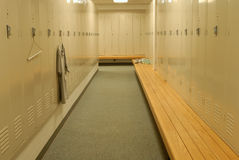 Locker Room Royalty Free Stock Images