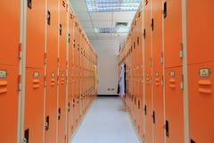 Locker room. Stock Photography