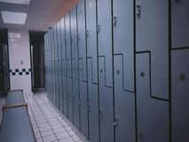 Locker room Stock Images