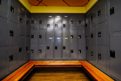 Locker Room Royalty Free Stock Photography