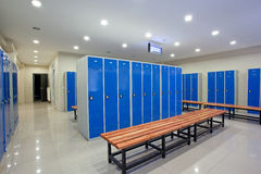 Locker rooms Stock Photos