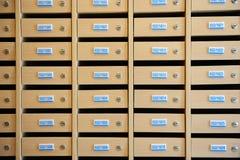 Locker Row Stock Photo