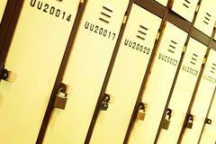 Locker in school Royalty Free Stock Photo