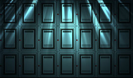 Locker wall background Royalty Free Stock Images