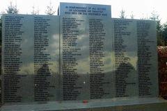 Lockerbie die Herdenkingsplaats, Schotland bombarderen royalty-vrije stock afbeelding