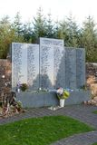 Lockerbie Garden of Remembrance Royalty Free Stock Image