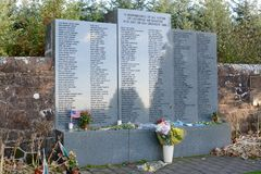 Lockerbie Garden of Remembrance Stock Photo