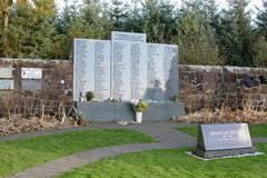 Lockerbie Garden of Remembrance Royalty Free Stock Photos