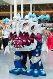 Lockern Sie im Kostüm an einer LA Anime-Ausstellung 2013 auf Stockfoto