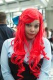 Lockern Sie im Kostüm an einer LA Anime-Ausstellung 2013 auf Lizenzfreies Stockbild