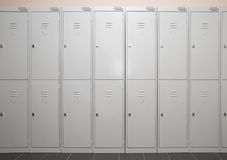 Lockers Stock Image