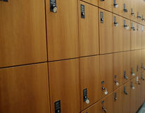 Lockers Royalty Free Stock Images