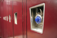 Lockers Royalty Free Stock Photos