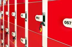 lockers Foto de Stock Royalty Free
