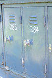 Lockers Stock Photos