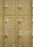 Lockers fotografia de stock royalty free