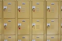 Lockers Royalty Free Stock Photo