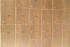 lockers in a cloak-room Royalty Free Stock Photography