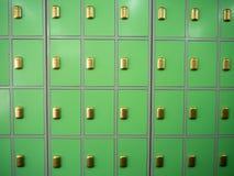 Lockers Stock Image