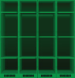 Lockers set Royalty Free Stock Photos