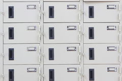 Lockers. Royalty Free Stock Photo