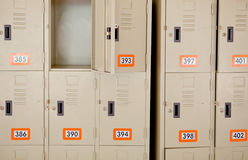 Lockers Stock Images
