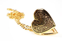 Locket del corazón imagen de archivo libre de regalías