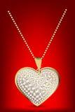 Locket del cuore Fotografia Stock Libera da Diritti